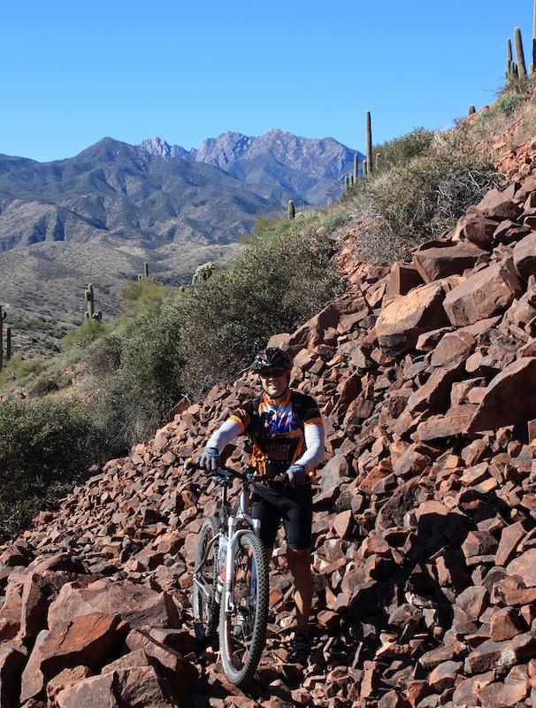 AZT: Four Peaks Mountain Bike Trail