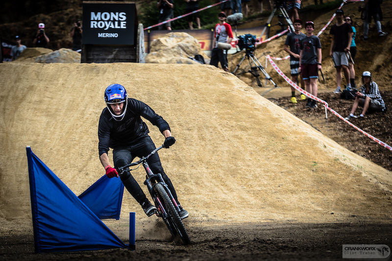 Martin Soderstrom returns to the scene of this Mons Royale Dual Speed and Style victory hoping to make the event a building block en route to King of the Crankworx World Tour. Photo Clint Trahan Crankworx