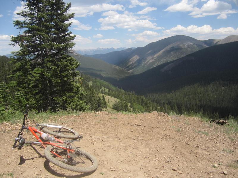 Monarch Crest Mountain Bike Trail