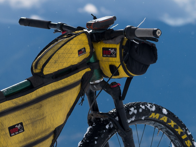 Bike Bag Dude Bikepacking Bags Review Pinkbike