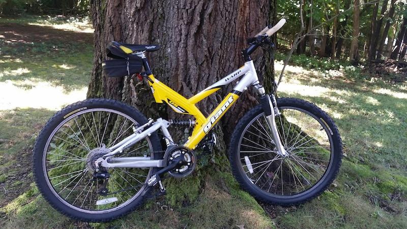 Aluminum Tubing Sizes >> 2003 Giant Warp DS3 full suspension Mountain Bike L For Sale