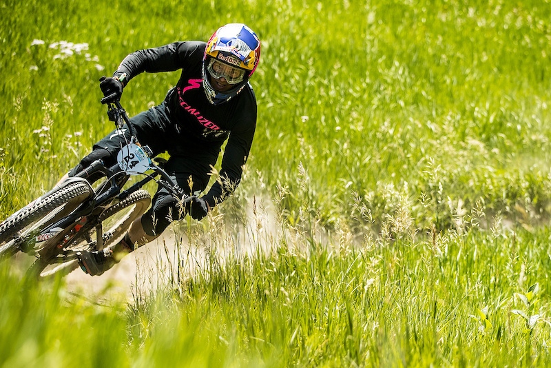 Curtis Keene riding the Mallet E LS at the 2016 EWS Snowmass Aspen Colorado USA.