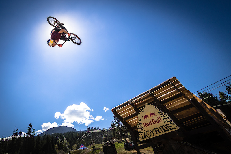 WHISTLER CANADA - AUGUST 17 on August 17 2016 at Crankworx in Whistler British Columbia Canada. Photo by Clint Trahan Crankworx