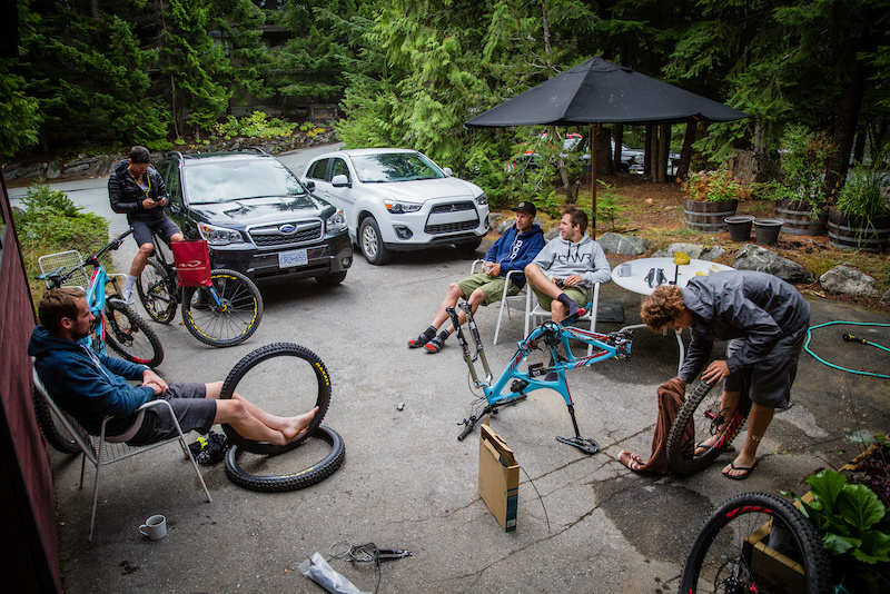 EWS Whistler by Ibis Cycles Enduro Race Team