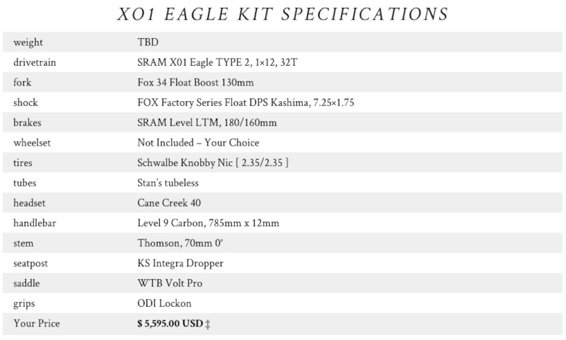 XO1 Eagle Build