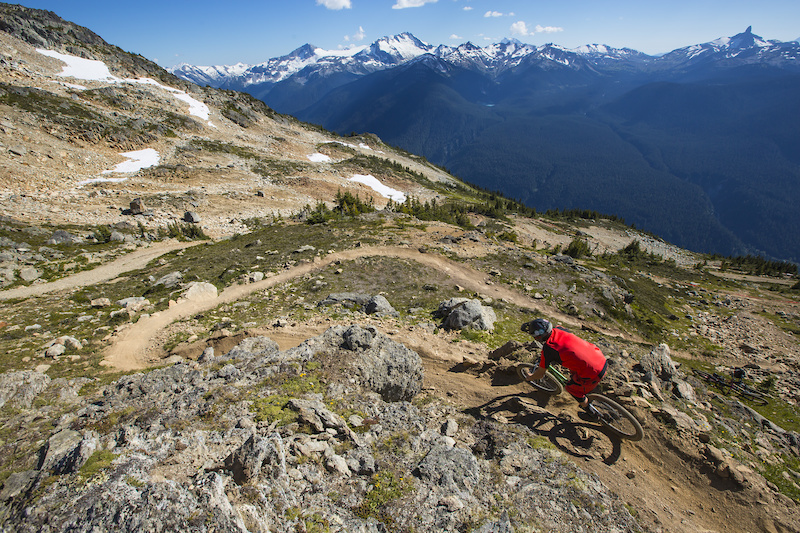 Top of the World Whistler Mountain Bike park Simeon Patience
