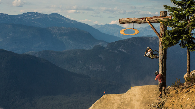 Crankworx Whistler Fans Choose Ben Haggar for Photo fan Fave
