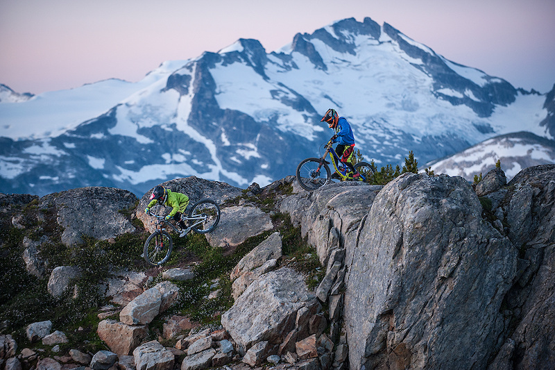 Zink, Wallace, Goldstone and Finestone Shred Whistler Bike Park – Video