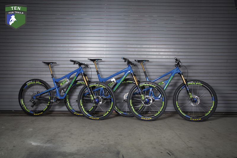 Ten For Trails Win A Custom Santa Cruz - Shimano XTR Equipped Dream Bike