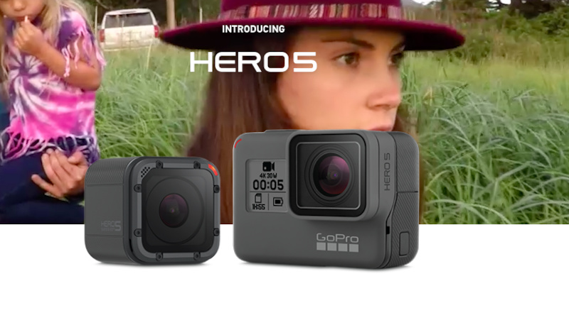 GoPro – Hero5 and Karma Drone