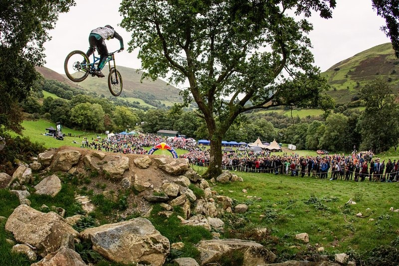 5 Questions with Red Bull Hardline Winner Bernard Kerr