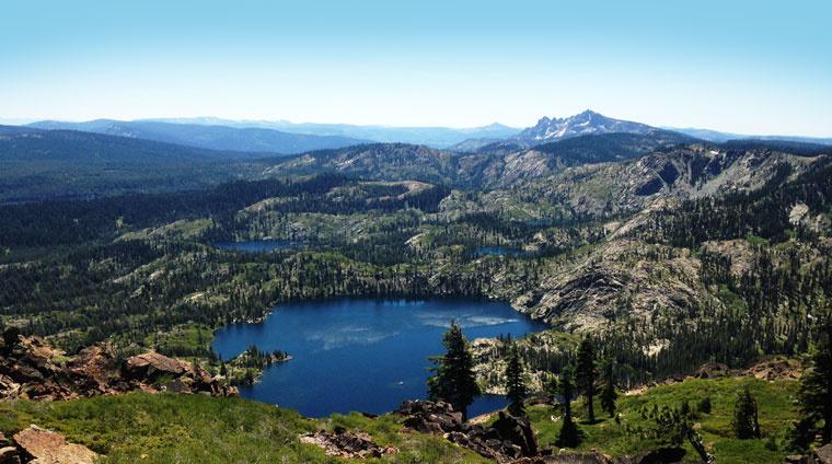Sierra Buttes basin