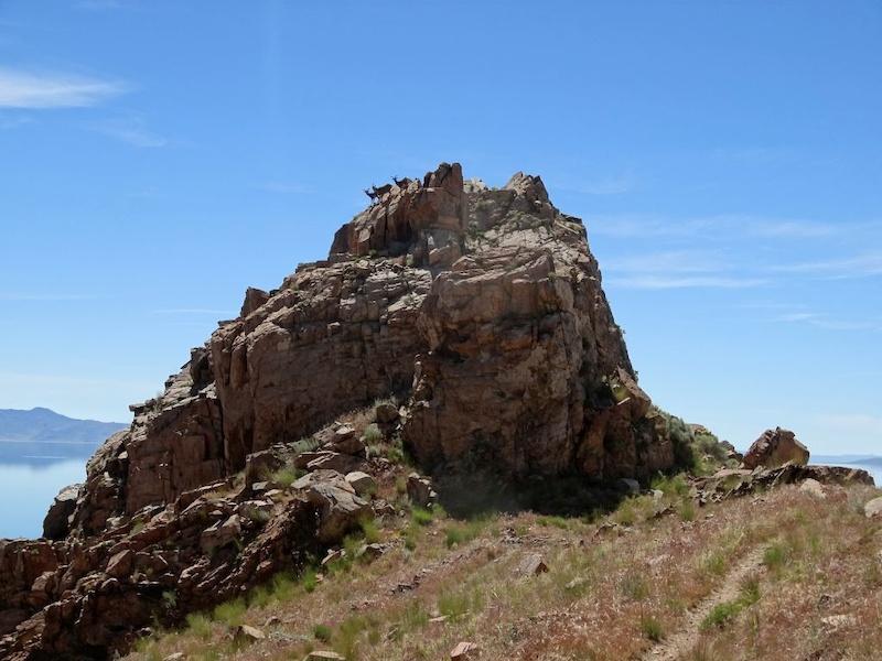 Split Rock Loop Trail Antelope Island