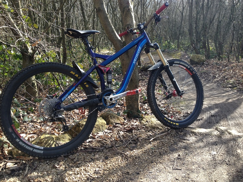 Stolen 21 09 Blue Specialized Pitch For Sale