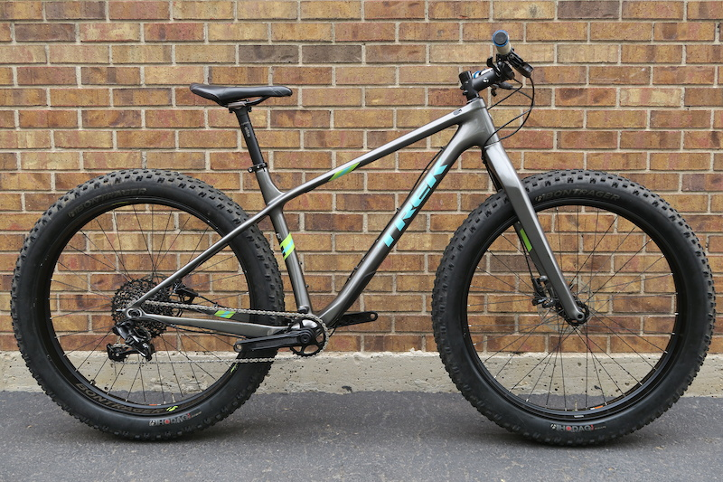 2016 Trek Farley 9 6 Carbon Fatbike Fat Tire Bike For Sale