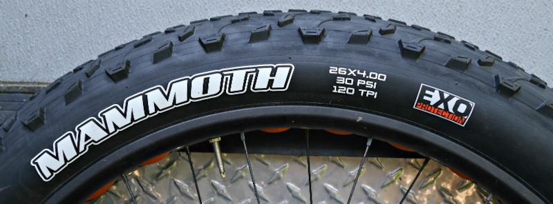 2016 Maxxis Mammoth 26x4 0 120tpi Fat Bike Tire For Sale