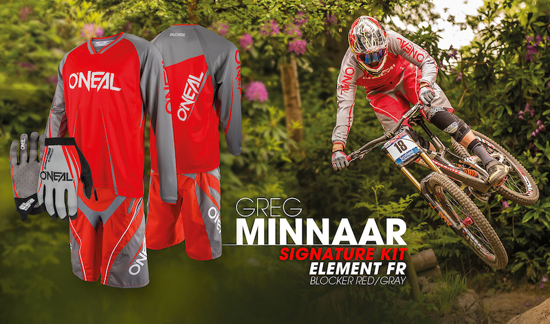 The O Neal Element FR gear is improved from one season to the next refined over the years with input from none other than Greg Minnaar the racer with more World Cup wins and podiums than any other male rider ever.