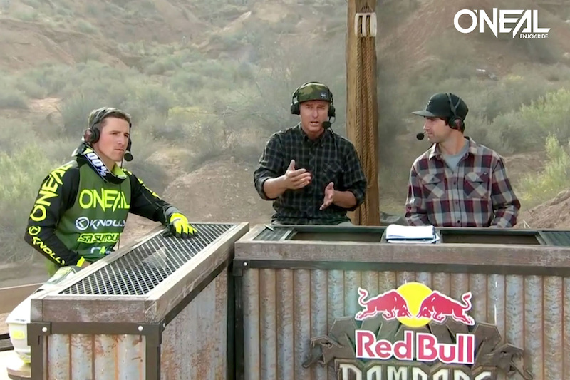 All Mountain Boss and O Neal team rider James Doerfing talking about his line choise at the Red Bull Rampage in Red Bull TV.