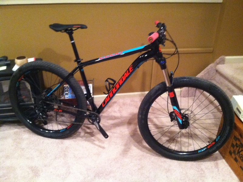 2016 Cannondale Cujo 1 Large 27 5 Plus Bike Minty For Sale
