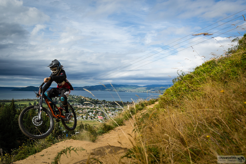 the new AirDH at Crankworx in Rotorua New Zealand. Photo by Clint Trahan Crankworx