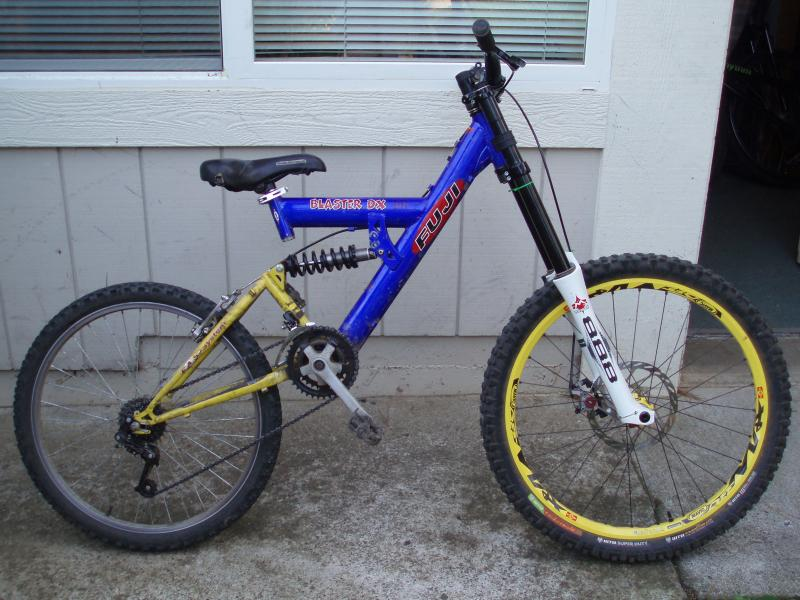 The beast of a Walmart bike. Meant for downhill or freeride. O YEA