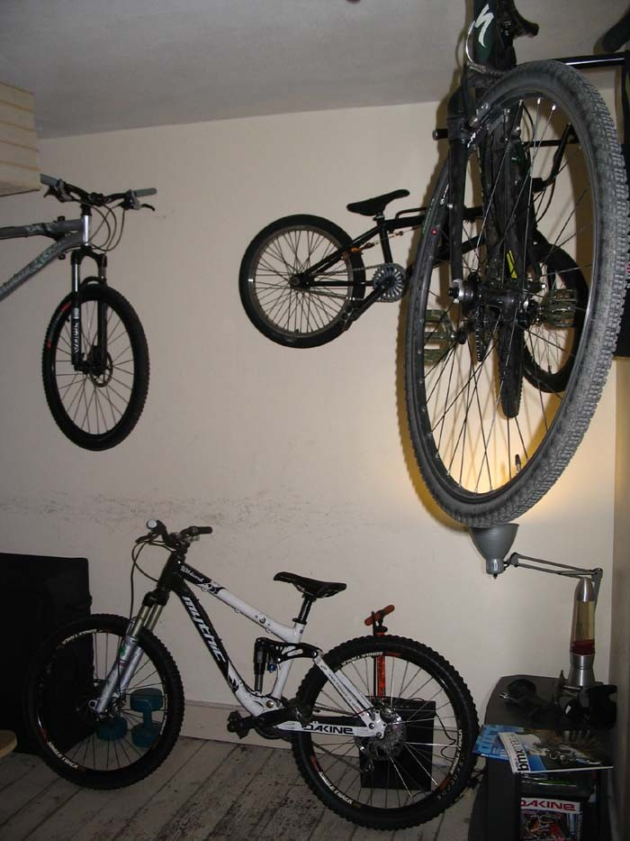 Show Me Your Wall Mounted Bike Storage Solutions
