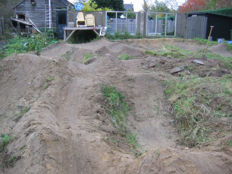 latest version of our backyard pump track