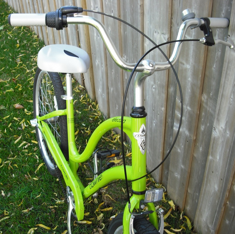 Womens Electra Townie 3 Cruiser Bike Lime For Sale