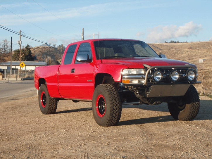 Gallery For > 97 Chevy Silverado Prerunner