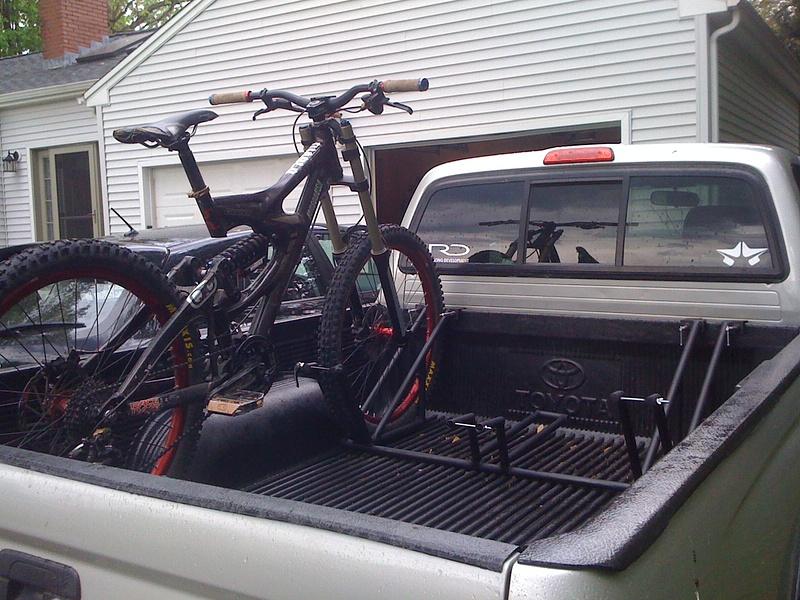 Bike Rack For Truck Bed Plans