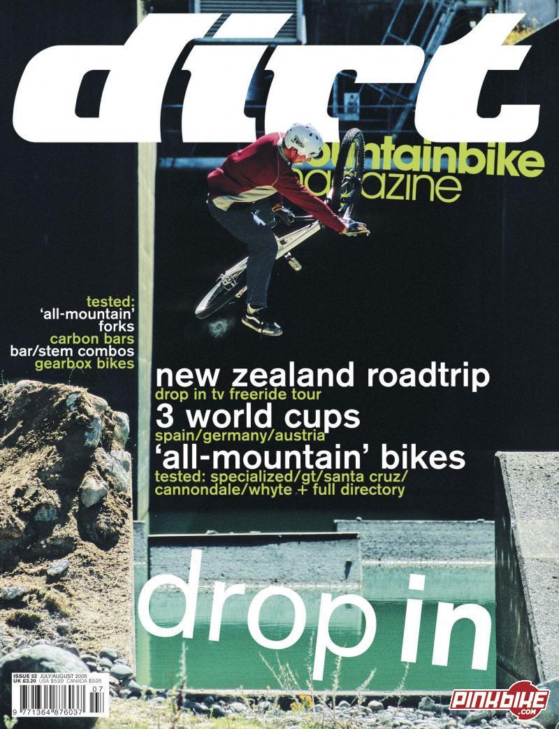 Dirt Magazine August 2005