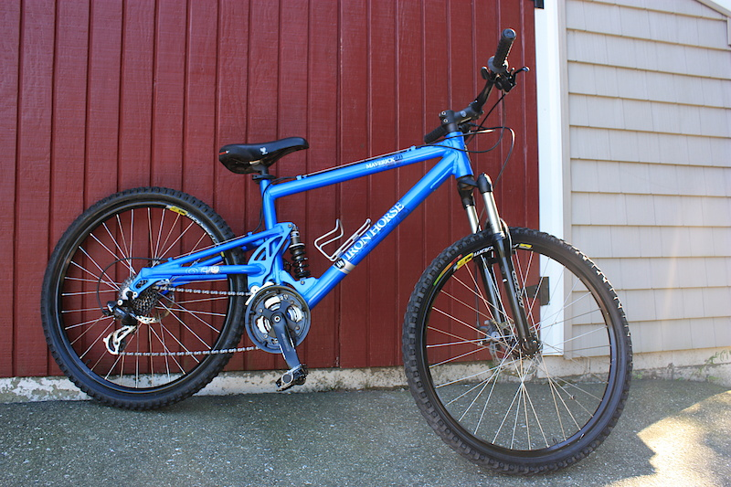 Iron Horse Maverick 2 0 Trail Full Suspension For Sale