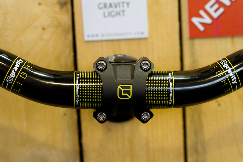While not quite ready in time for Eurobike, expect to see some sweet signature Andrew Taylor graphics debuted for the Gravity Light line in our upcoming Interbike reports. It will be bright.