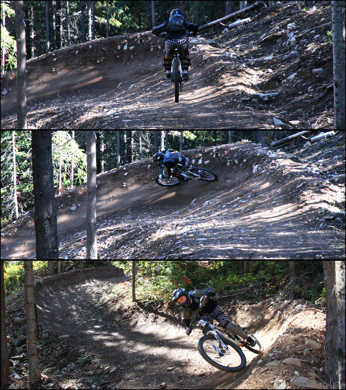 Boer Mountain trails - Burns Lake; government funding and volunteer work built a downhill-oriented trail network