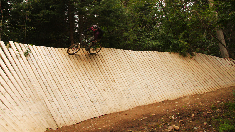 Paydirt wallride; government built!!