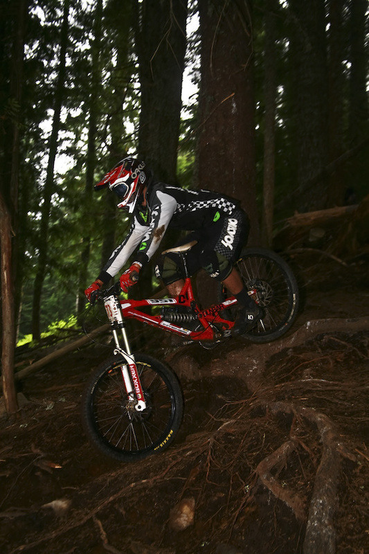 Only one Canadian showed up. Since this is Pinkbike and all, it would be rude not to include Dunbar Cycles' Ken Faubert into this recap. He did place a strong 5th and took home some US funding, doubt he'll be stopped at the border for the amount.