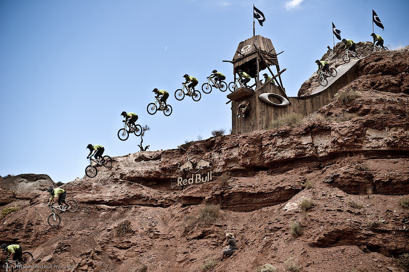 Gully nails the Oakley sender in qualifying