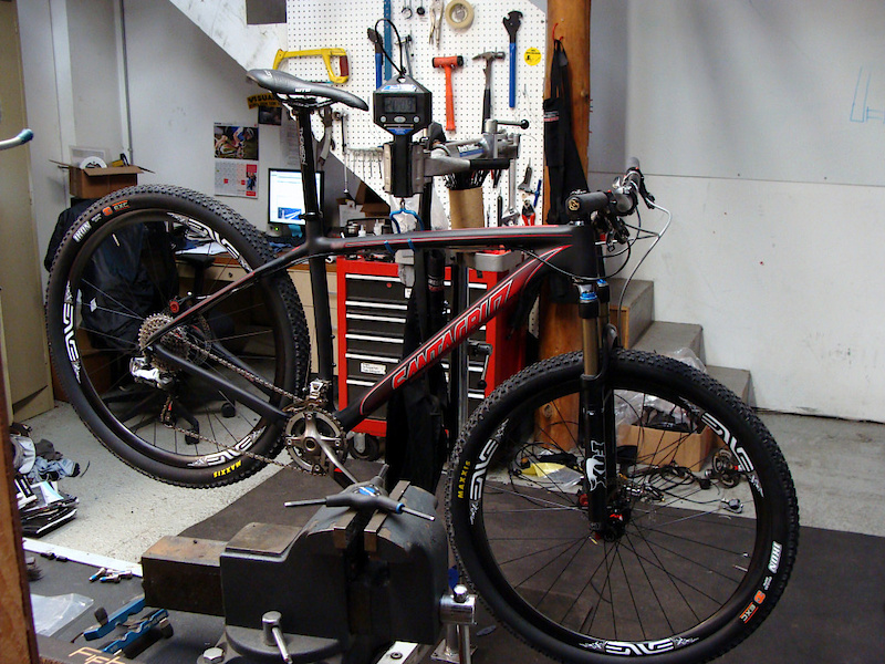 <span style='font-size:15px'>Let's hope that the matte finish makes it into production</span><br><br>While big travel steeds and All-Mountain sleds rule the roost around here, there's more to life than carbon downhill bikes and 6