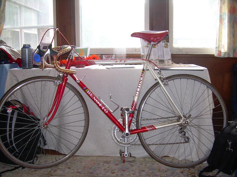 Classic Italian Benotto Triathlon Bike For Sale