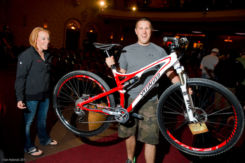 A free Specialized Epic Carbon 29er - just for showing up? One lucky ticket holder, eh?