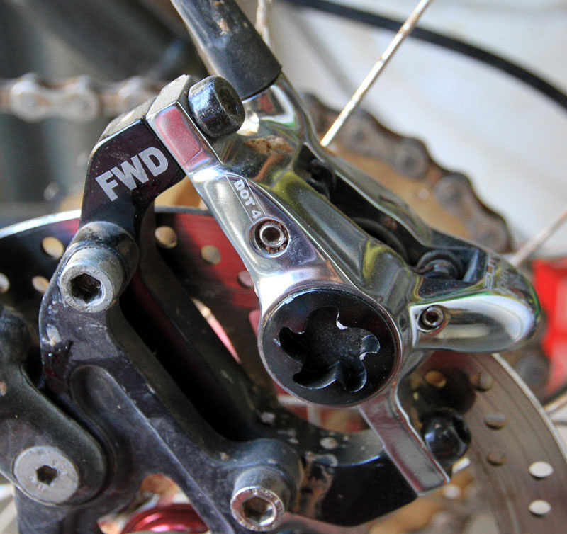 <br><span style='font-size:17px'>Hygia Elite Carbon Brake Details:</span><br><br>- Intended use: Cross-country/all-mountain<br>-Aluminum perch with carbon fiber lever<br>-Caliper uses Shimano XT pads<br>-DOT-4 brake fluid<br>-Post-type mount<br>-Rotor available in 160 or 180-millimeter diameters<br>-Weight: 400 grams (per wheel)(<i>claimed: 292 grams</i>)<br>- MSRP $375 (two wheels)