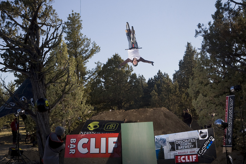 Just another day for Jamie Goldman, flip tuckin' like it's a full time job... Dialed.
