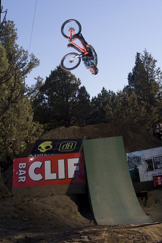 That orange bike is poppin! Not to mention the fact that Christian Wright is upside down, underground, and un-turn-downed.