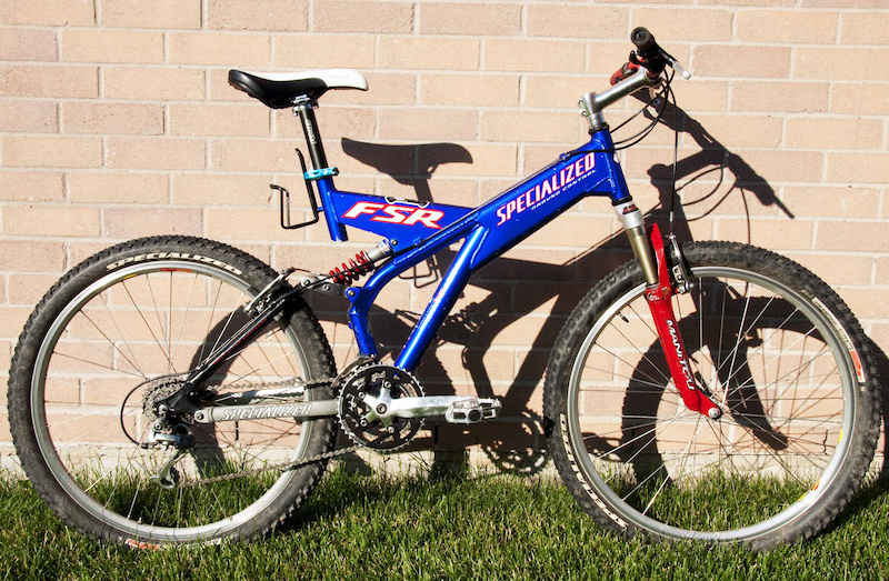 1998 Specialized Ground Control Fsr For Sale