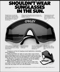 Oakley Factory Pilot Eyeshades Original Sunglasses For Sale