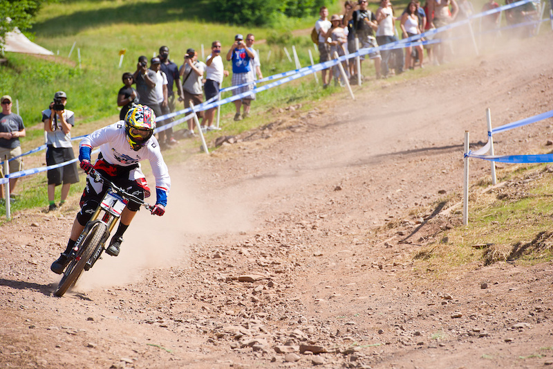 Aaron Gwin coming home for the win.