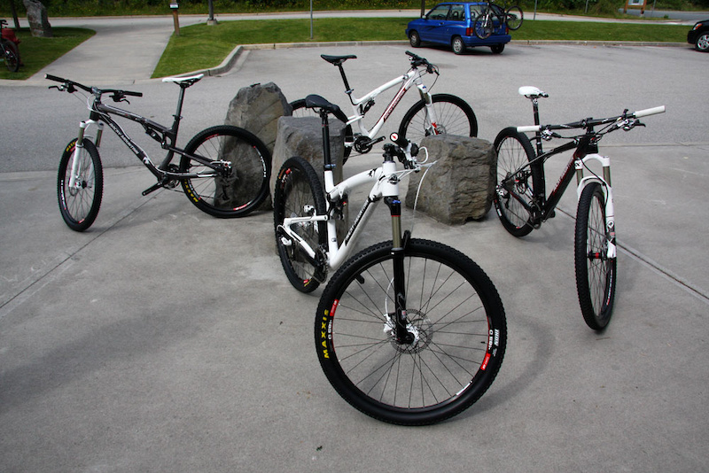 Rocky Mountain Bikes press pics for the Vertex and Element 26 29 launch.