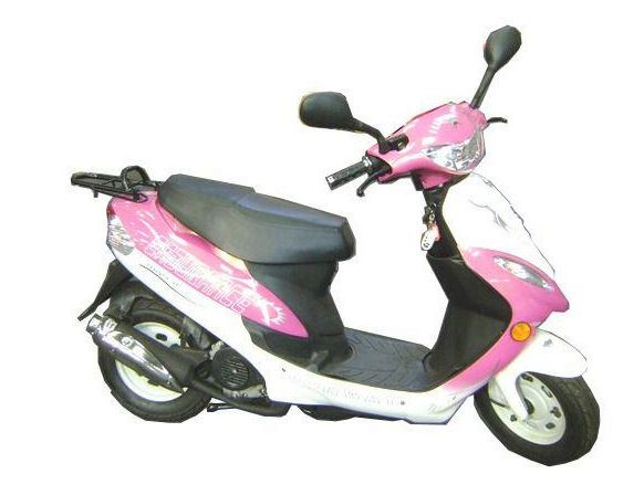 2011 new jonway pink white 50cc scooter moped 1199 rrp. Black Bedroom Furniture Sets. Home Design Ideas