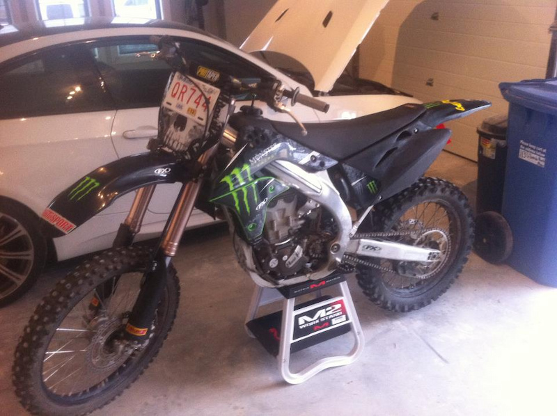 2006 kx450f for sale