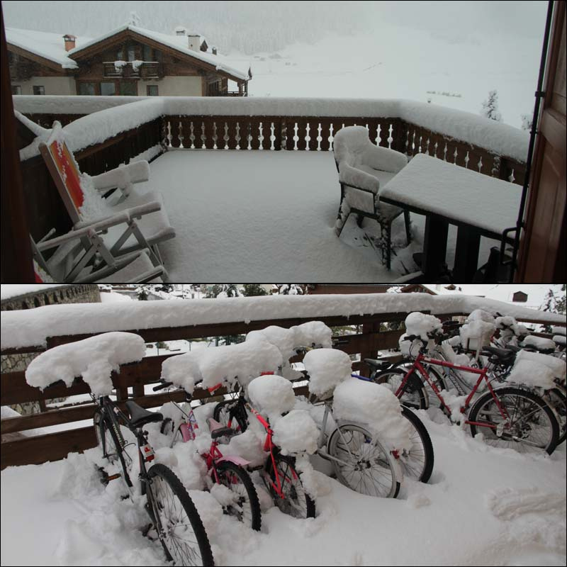 30cms of new snow on Sept 19th scotched plans to bike for the foreseeable future